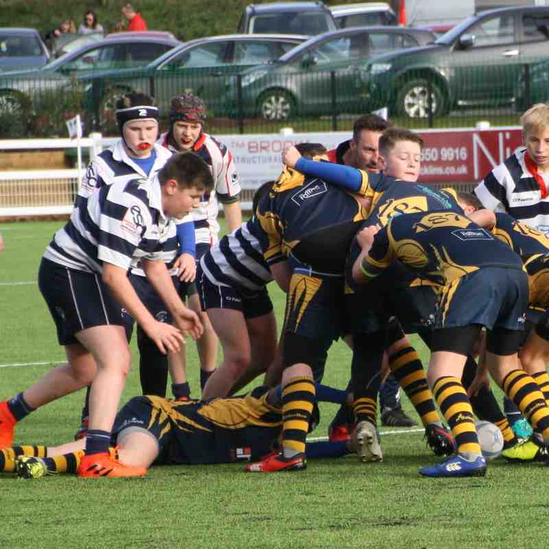 SRFC Under 13s v Worcester, Sunday 19 November 2017