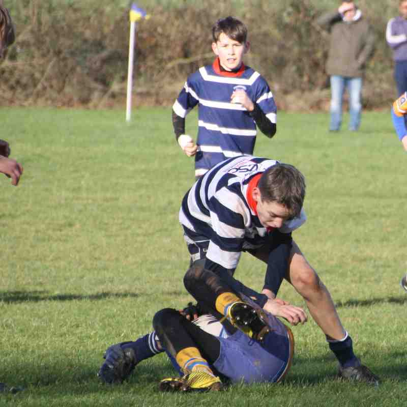 Old Leams v Stourbridge RFC Under 13s - Sunday 28 January 2018