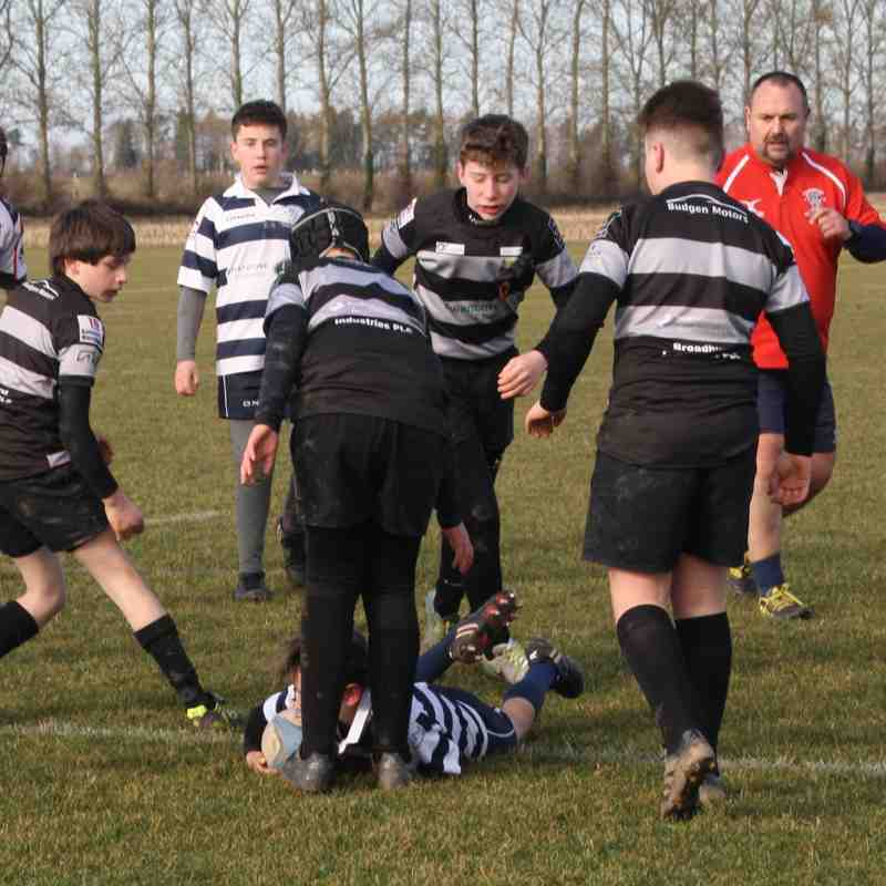 Bridgnorth v Stourbridge Under 13s - Sunday 3 February 2018
