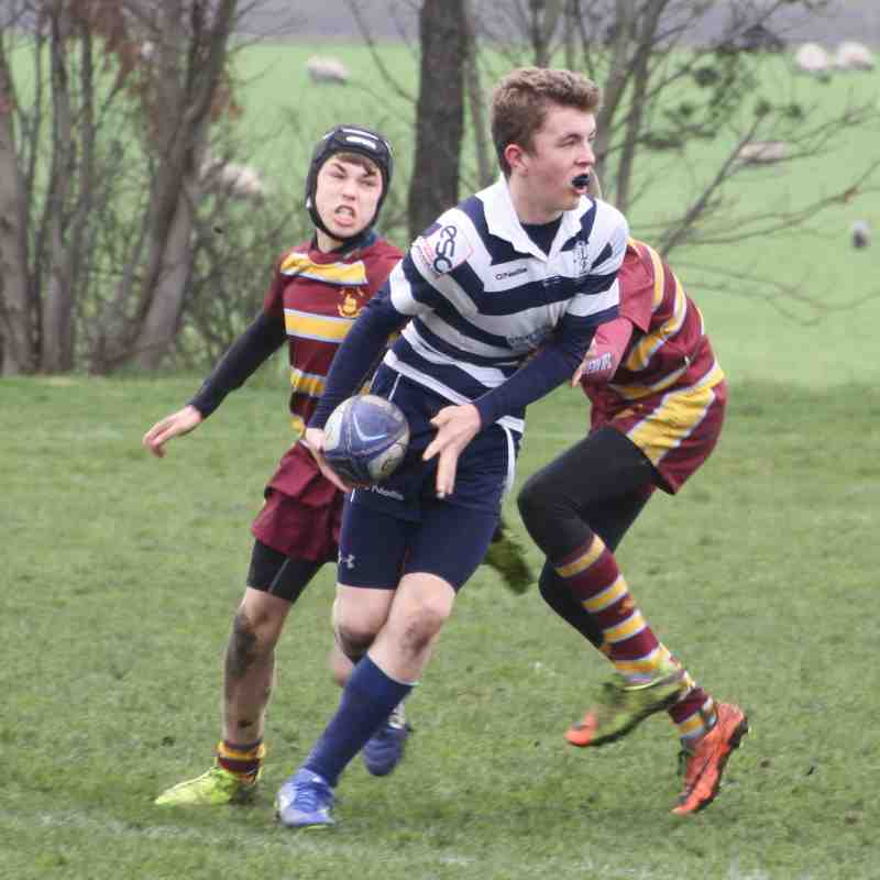 Stourbridge RFC Under 13s v Malvern - Sunday 8 April 2018