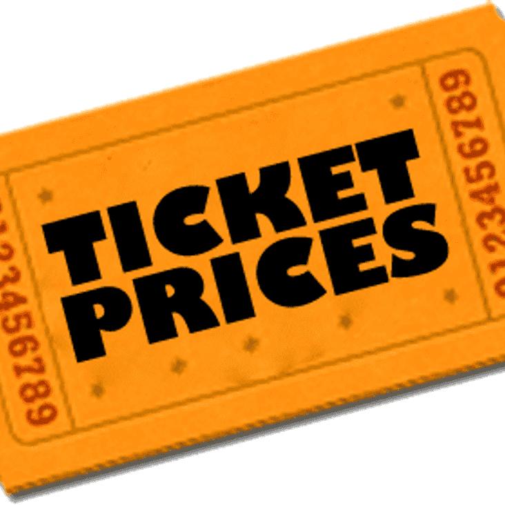 Season 2019/2020 Prices
