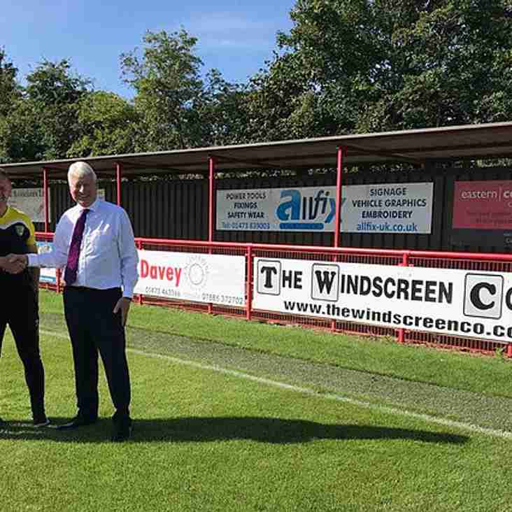 Norwich City RDP enter partnership with Needham Market Football Club