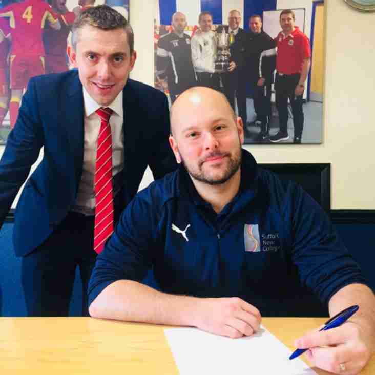 Footballers to study at Needham Market FC thanks to college link-up