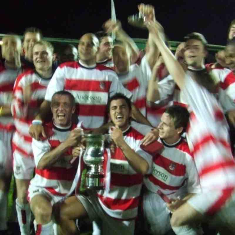 Surrey Cup Winners 2005/06