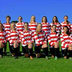Ladies Keep Their 100% League Record Alive
