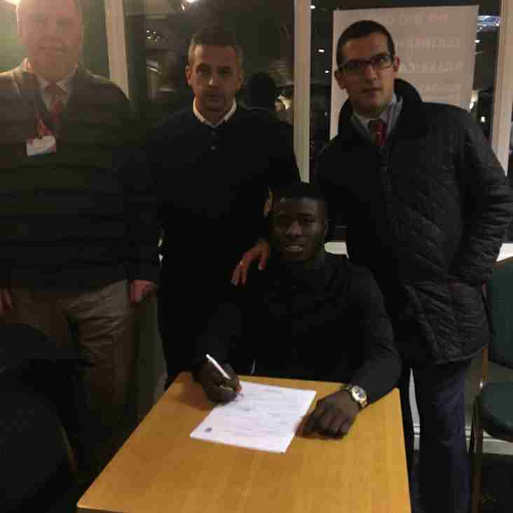 Daniel Ajakaiye signs for K's