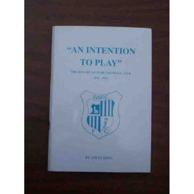 'An Intention to Play'