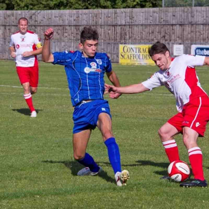 Ware 1-1 Redbridge 22.09.12