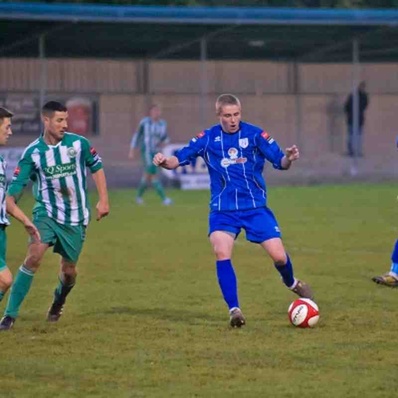 Ware 0-3 Soham Town Rangers 03.11.12