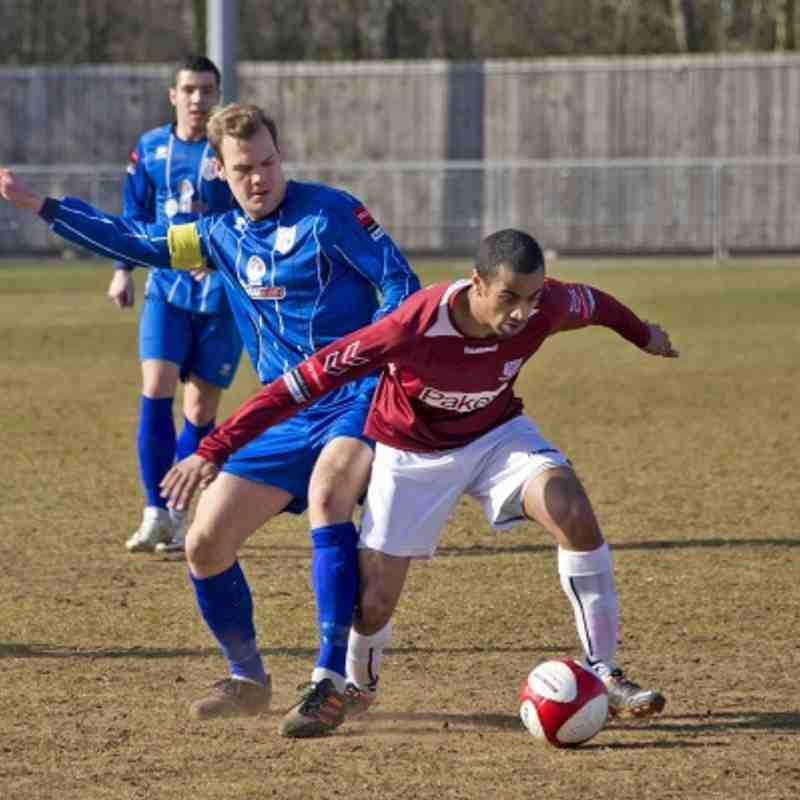 Ware 1-3 Potters Bar Town 06.04.13