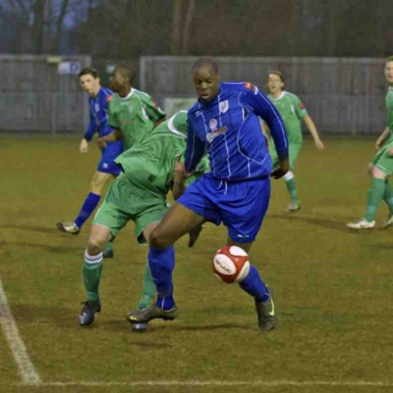 Ware 0-1 Thamesmead Town 09.04.13