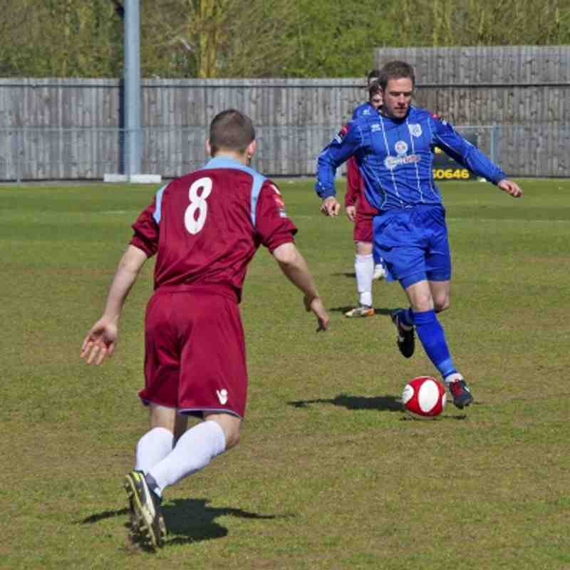 Ware 2-1 Brentwood Town 20.04.13
