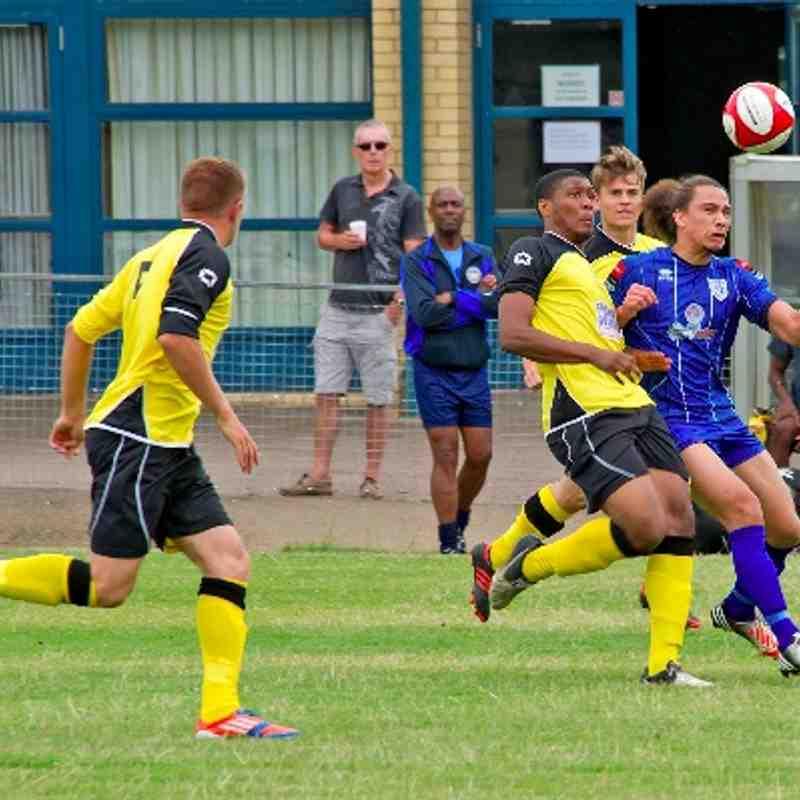 Ware 3-2 Hertford Town 20.07.13