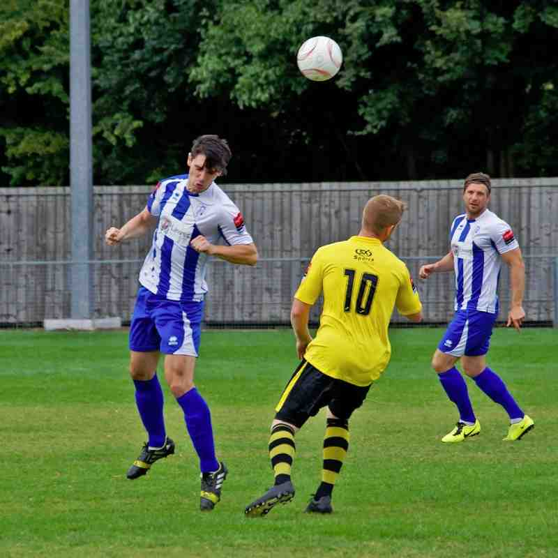 Ware v Great Wakering Rovers 13.09.14