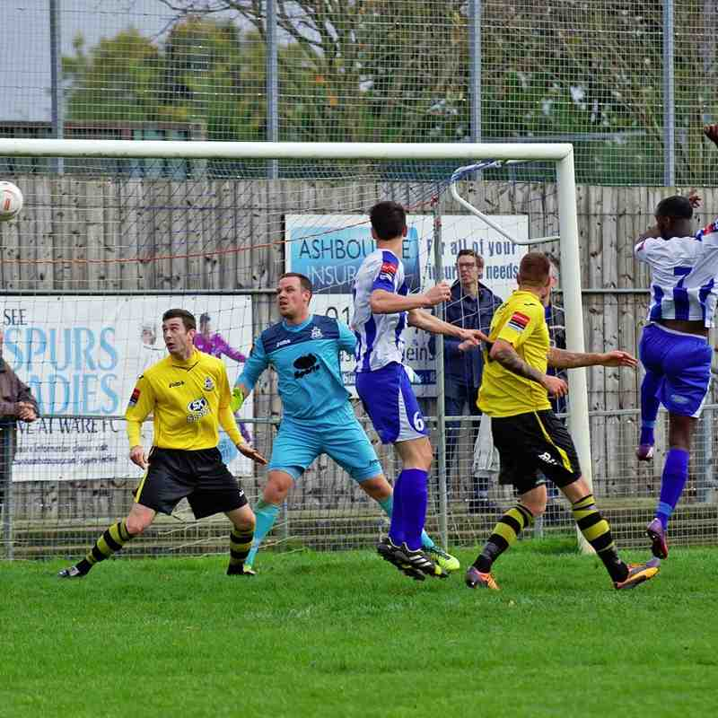 Ware v Great Wakering Rovers 18.10.14