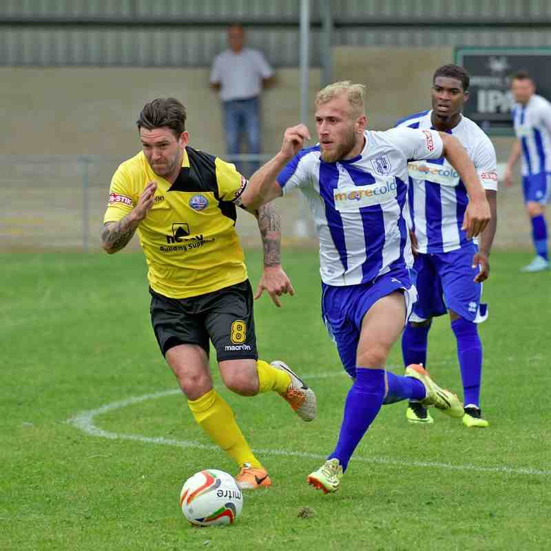 Ware v AFC Rushden & Diamonds 15.08.15