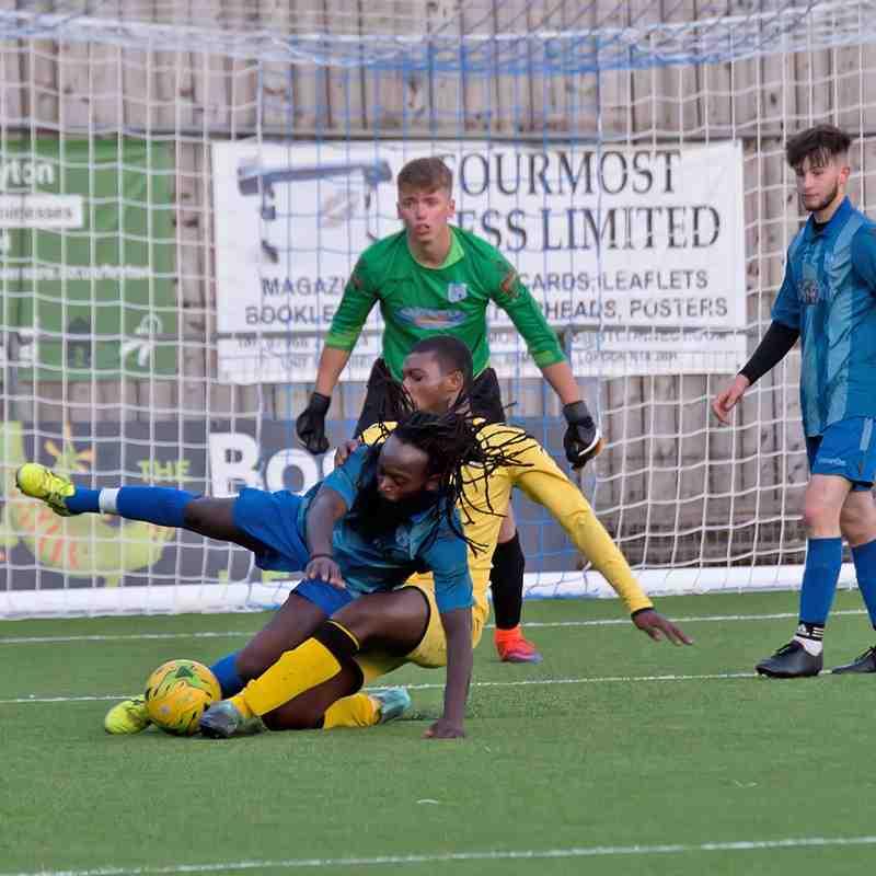 Ware U23 v Hertford Town U23 10.08.18