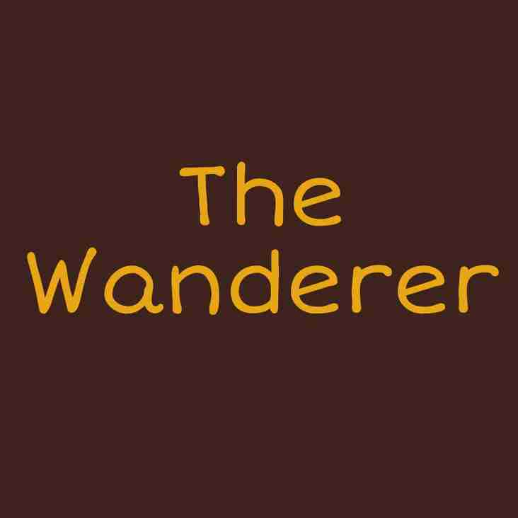 THE WANDERER  - A SALUTORY TALE – THE LONG ROAD BACK