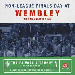 Grays Athletic are proud to support Non League Finals Day