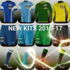 Home and Away replica kits now available