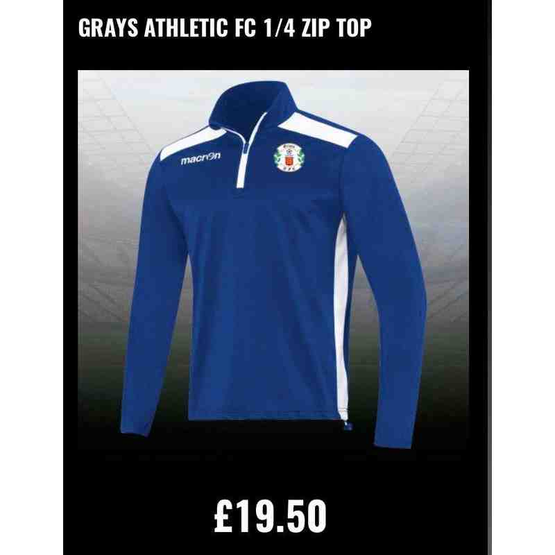 Grays Athletic 1/4 zip top