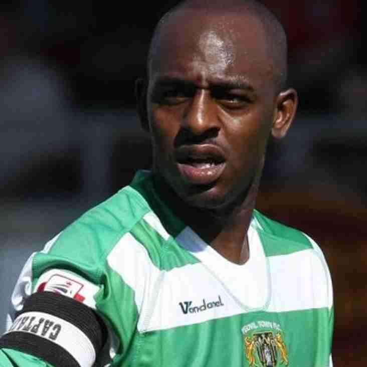 Vastly experienced Terrell Forbes joins the club