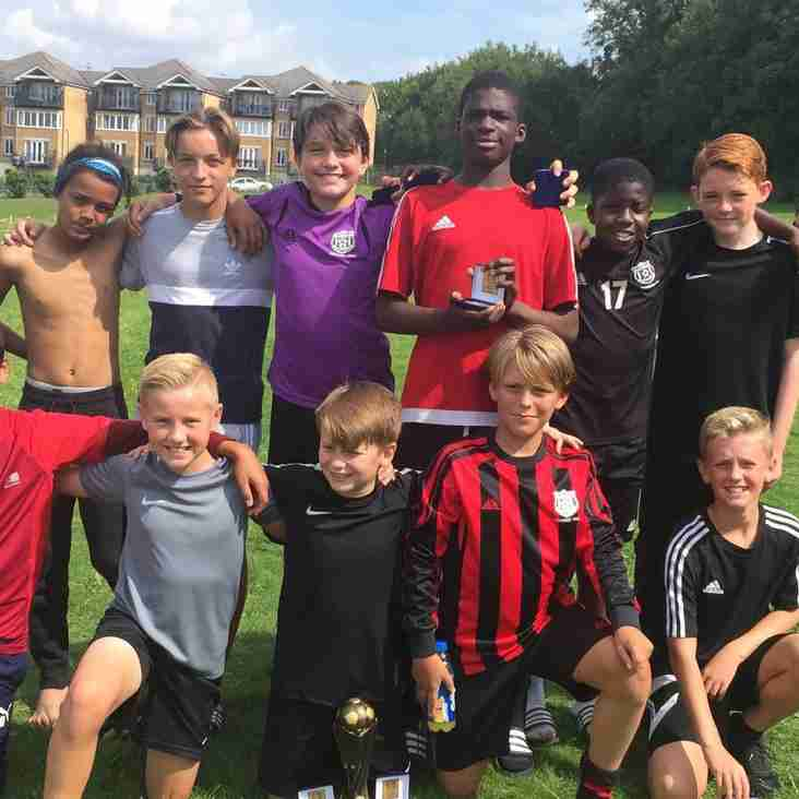 Grays Athletic U13 team continues tournament dominance