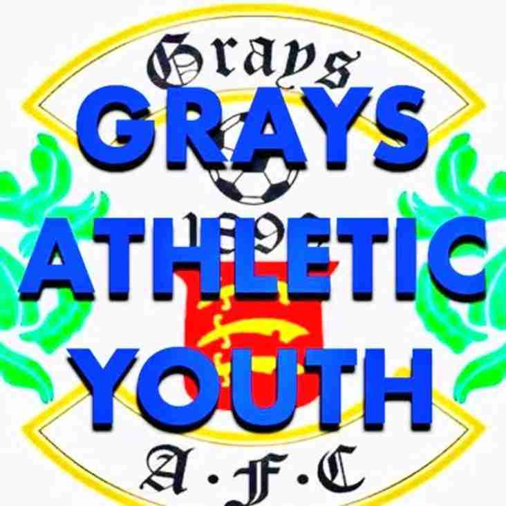 GRAYS ATHLETIC U12's LOOKING FOR PLAYERS