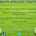 EJA U17/U18's and Reserves Open Training Day
