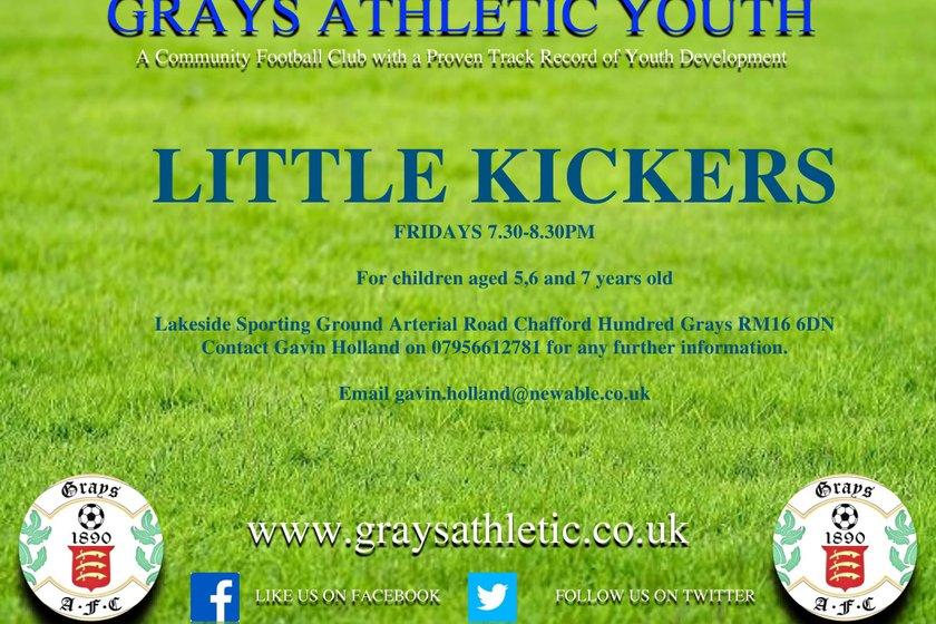 GRAYS ATHLETIC YOUTH -  LITTLE KICKERS