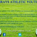 GRAYS ATHLETIC YOUTH U12s LOOKING FOR PLAYERS