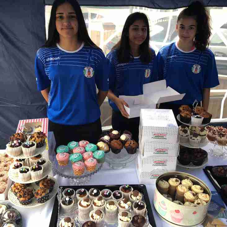 GIRLS YOUTH TEAMS RAISE FUNDS FOR CHARITY