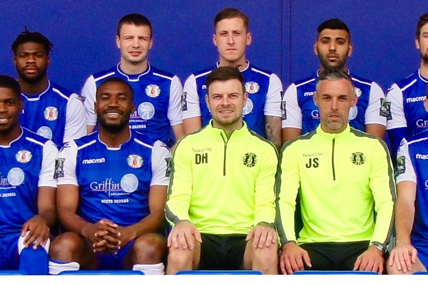 GRAYS ATHLETIC 1st TEAM lose to Aveley 3 - 4