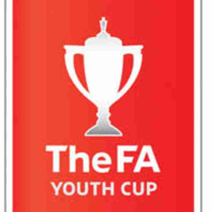 Young Blues in FA Youth Cup action - 1st Qualifying Round
