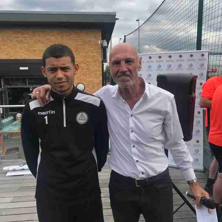 Reserve keeper represents club in cup competition