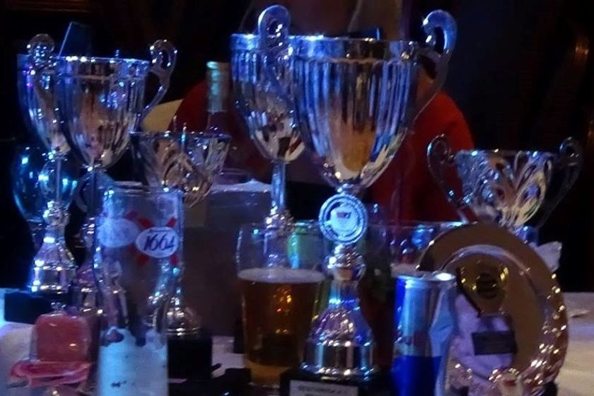 End of season Dinner Dance & Trophy presentations 2018