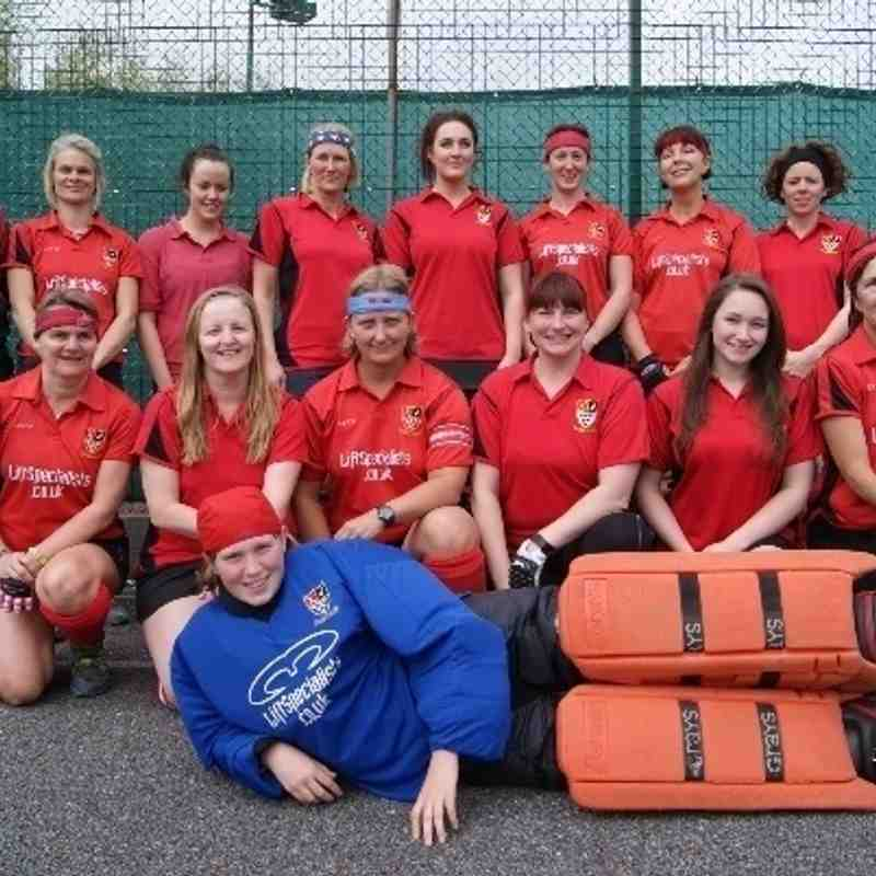 Ladies 2nds 2013 Cup Final