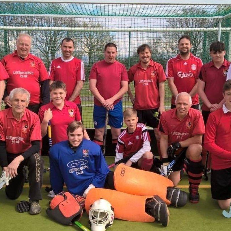 Southwick Mens 3rds lose to South Saxons Mens 4's 5 - 2