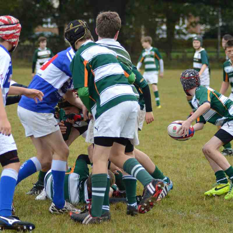 Camelot vs Ealing U14s 12th Oct 2014