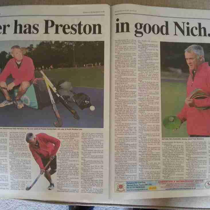 Peter Nicholson - LEP Report