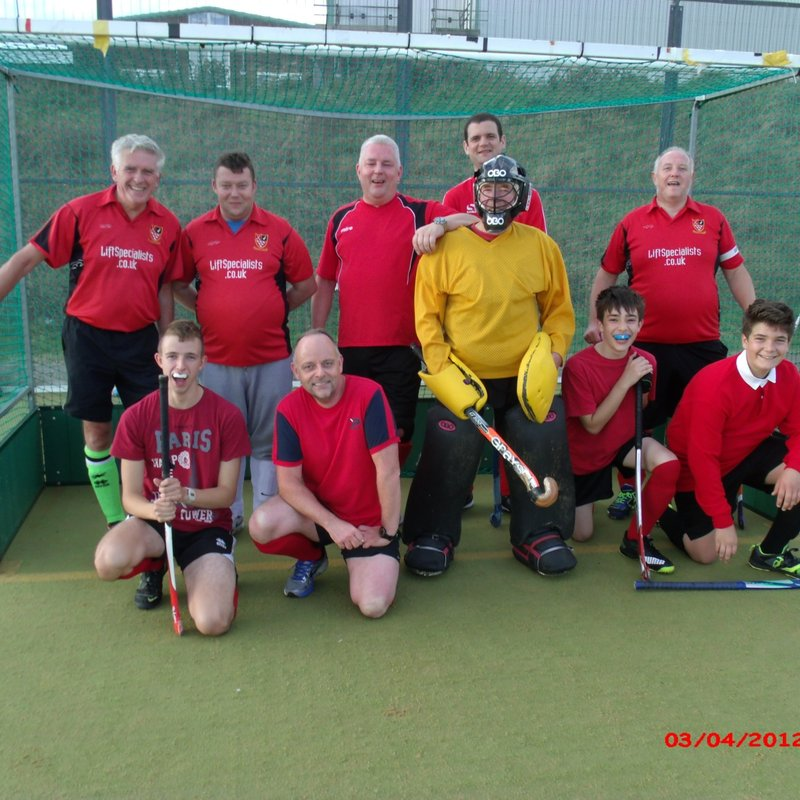 Southwick Mens 4ths lose to Lewes Mens 5's 3 - 1
