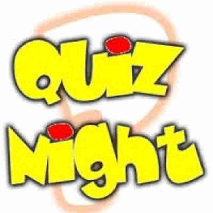 Next Quiz Night  Friday 5th October 2018
