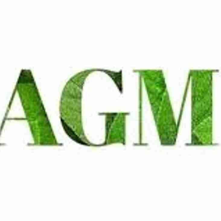 Notice of Club AGM