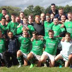 The victorious 3rd XV