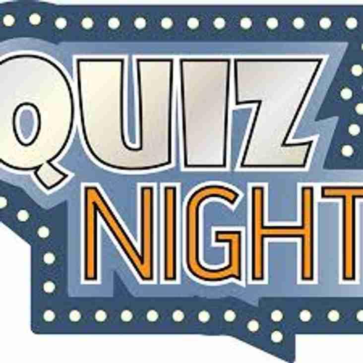 Next Quiz Night Friday 3rd November at 7.30