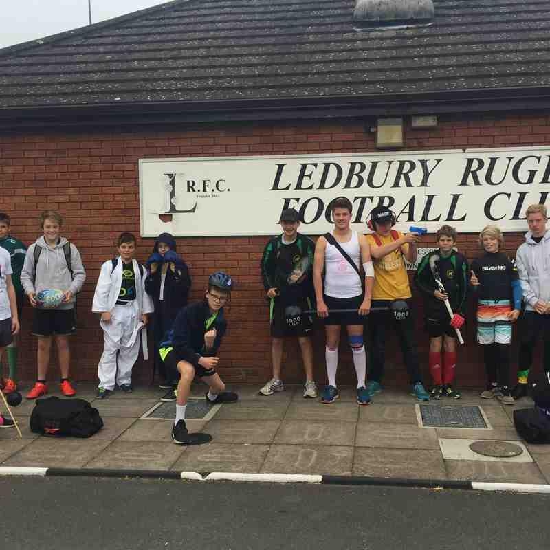 U14 v Ledbury RFC - Sun 23 Oct 2016