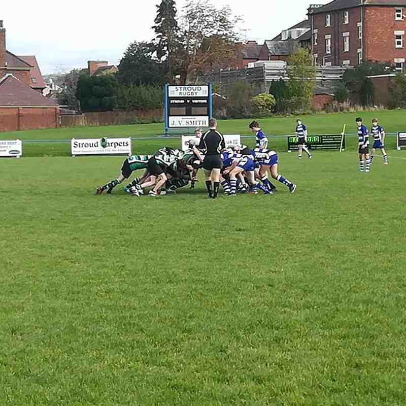 U15s Beat Stroud 40-17