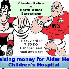 Chester Relics v North Wales Barbarians