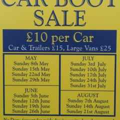 Car boot sales back at the club