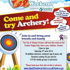 Come and try Archery!